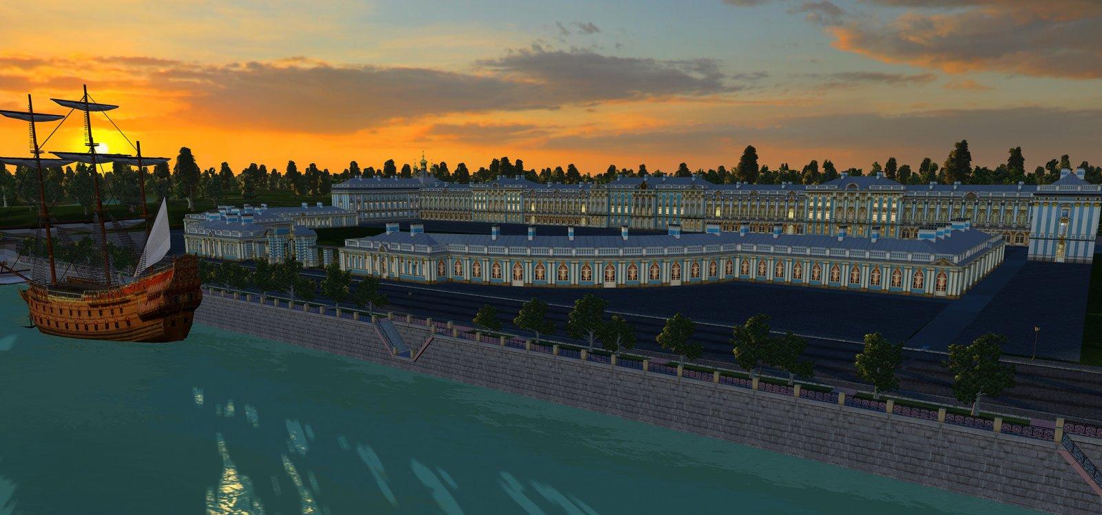 Екатерининский дворец закат.jpg