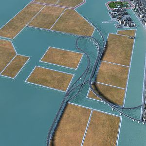expressway over water